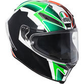 AGV Corsa R Balda 2016 Motorcycle Helmet MS Black Green White Red