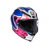 AGV Corsa R Jack 2017 Motorcycle Helmet ML Blue Pink White