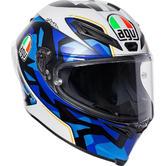 AGV Corsa-R Espargaro 2017 Replica Full Face Motorcycle Helmet L Blue White
