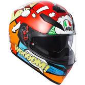 AGV K-3 SV Balloon Full Face Motorcycle Helmet S Multicoloured