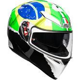 AGV K-3 SV E2205 Morbidelli Full Face Motorcycle Helmet 2017 2XL Replica