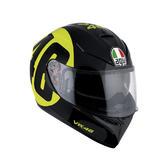 AGV K-3 SV Bolo 46 Full Face Motorcycle Helmet L  Black Yellow