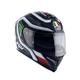 AGV K-5 S Fire Race Full Face Motorcycle Helmet L Black Italy