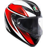 AGV Veloce S Feroce Full Face Motorcycle Helmet S Black Red