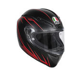 AGV Veloce S Predator Full Face Motorcycle Helmet L Matt Black Red
