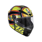 AGV Veloce S Soleluna Full Face Motorcycle Helmet S Multicoloured
