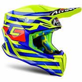 Airoh Twist Cairoli Qatar Motocross Helmet M Yellow