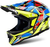 Airoh Junior Archer Chief Motocross Helmet XS Blue