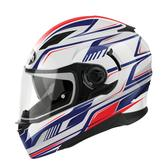Airoh Movement First Full Face Motorcycle Helmet XS Red White Blue