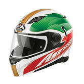 Airoh Movement Far Full Face Motorcycle Helmet M Gold White Pink Green