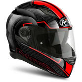 Airoh Movement S Faster Full Face Motorcycle Helmet L Black Red