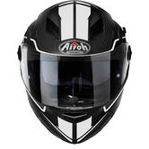 Airoh Movement S Faster Motorcycle Helmet M Matte White
