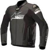 Alpinestars Fuji Leather Motorcycle Jacket 52 Black