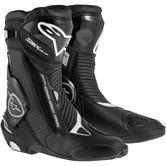 Alpinestars SMX Plus Gore-Tex Motorcycle Boots 36 Black (UK 2)