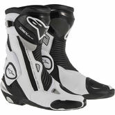 Alpinestars SMX Plus Motorcycle Boots 46 Black White