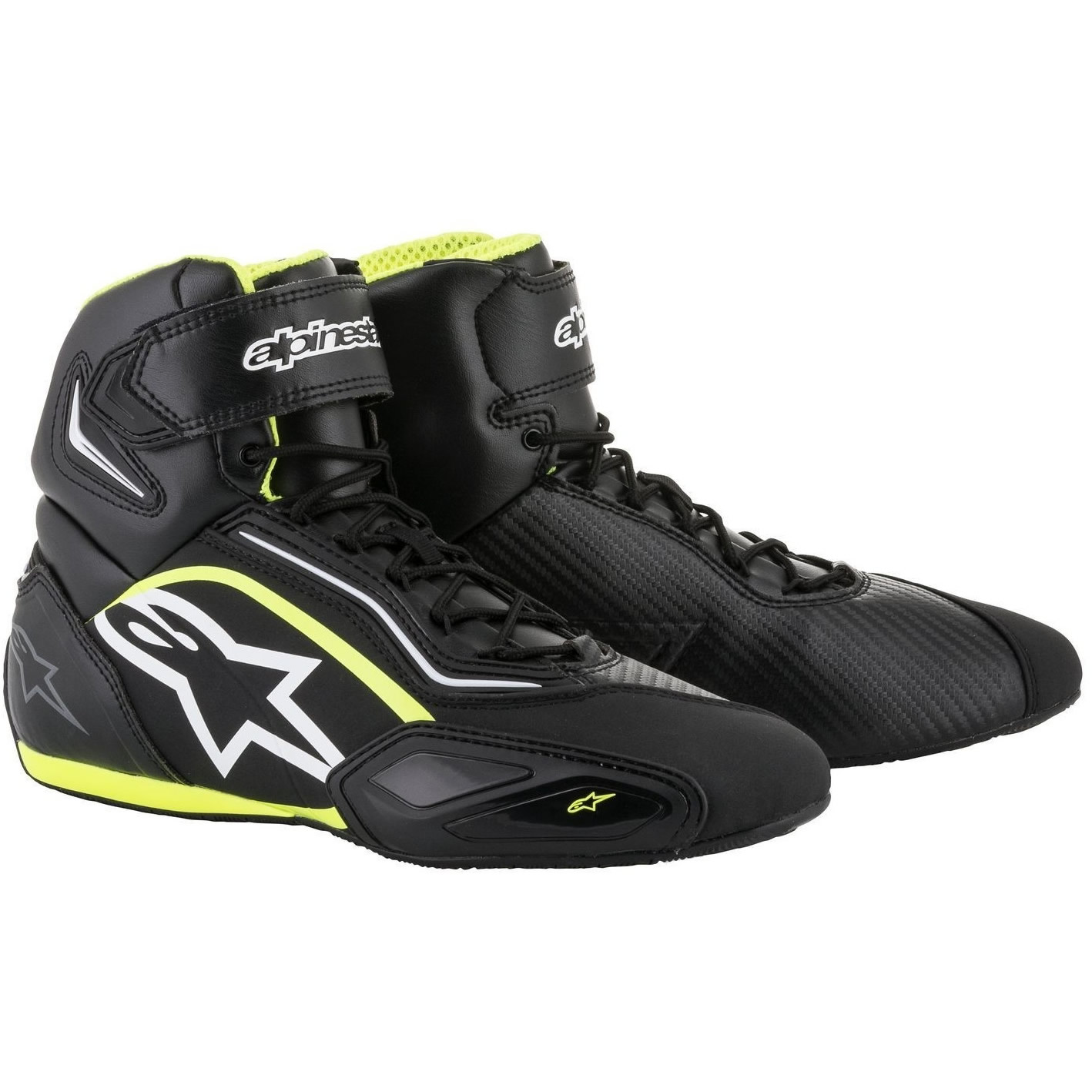 a870de732d3dc1 Sentinel Alpinestars Stella Faster 2 Ladies Motorcycle Boots 42 Black  Yellow (UK 8)