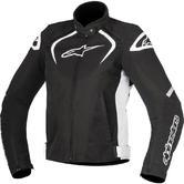 Alpinestars Stella T-Jaws WP Ladies Motorcycle Jacket M Black White