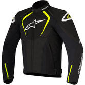 Alpinestars T-Jaws WP Motorcycle Jacket XL Black Fluo