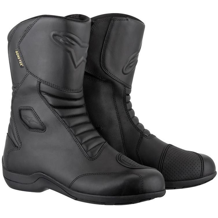 Alpinestars Web Gore-Tex 2013 Motorcycle Boots 36 Black (UK 2)