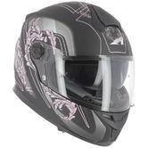 Astone GT800 Evo Primavera Full-Face Motorcycle Helmet S Black Pink
