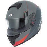 Astone GT1000F Full-Face Motorcycle Helmet XXL Red Grey