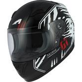 Astone GT2K Predator Kid Full-Face Motorcycle Helmet L Black White