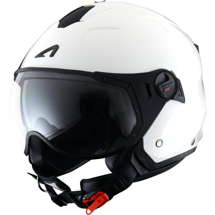 Astone Minijet Sport Open-Face Motorcycle Helmet L White