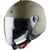 Astone Minijet S Open-Face Motorcycle Helmet S Army Matt