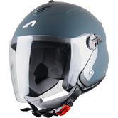 Astone Minijet S Open-Face Motorcycle Helmet XXL Dark Grey
