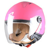 Astone Minijet Open-Face Motorcycle Helmet M Pink
