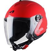 Astone Minijet S Open Face Motorcycle Helmet S Red