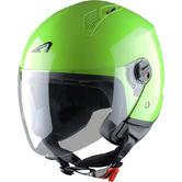 Astone Minijet Open-Face Motorcycle Helmet S Apple Green