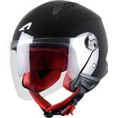 Astone Minijet Open Face Motorcycle Helmet L Gloss Black