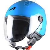 Astone Minijet Open-Face Motorcycle Helmet L Blue Curacao