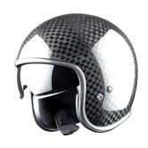 Astone Vintage Open-Face Motorcycle Helmet M Carbon Vendome