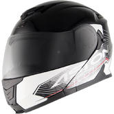 Astone RT1200G Flip-Up Motorcycle Helmet M Black White
