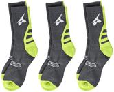 Axo Bike Motocross Socks S-M Grey Green