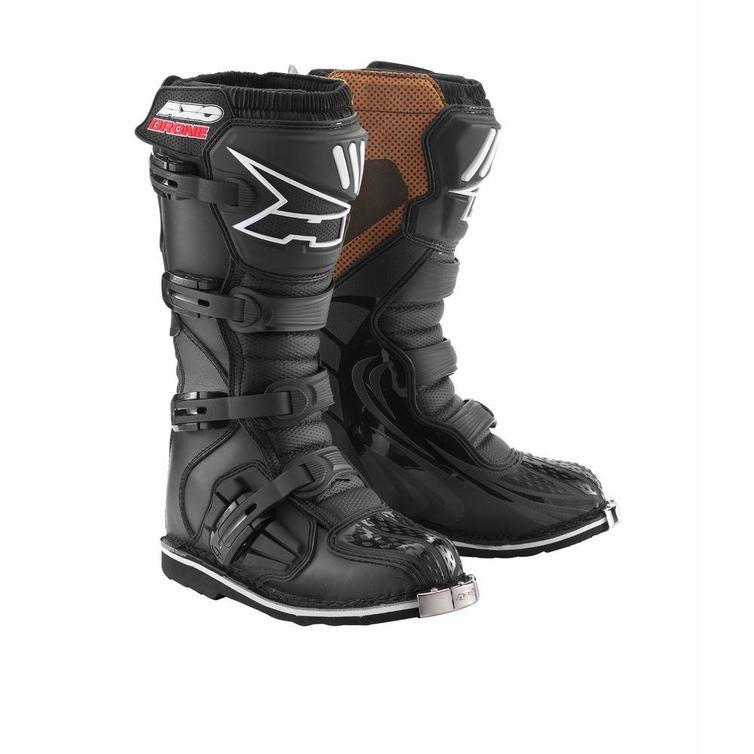 Axo Drone Motocross Boots 40 Black (UK 6)
