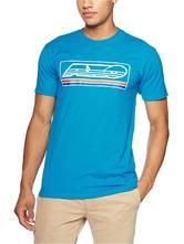Axo Block T-Shirt L Blue