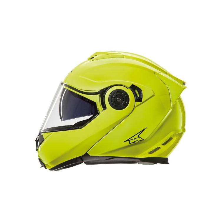 Axo Galaxy Flip Front Motorcycle Helmet M Yellow