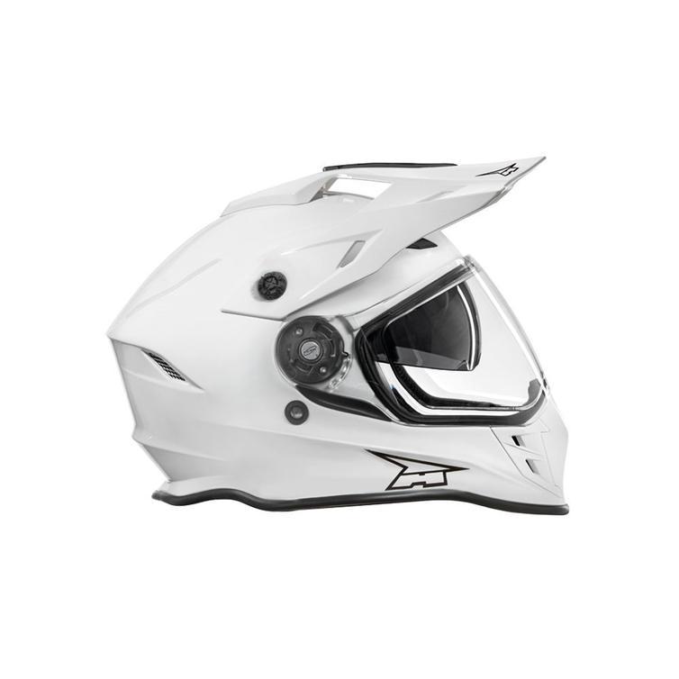 Axo EMX Dual Sport Helmet XL Shiny White