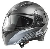 Axo RS01 Motorcycle Helmet XS Black Grey