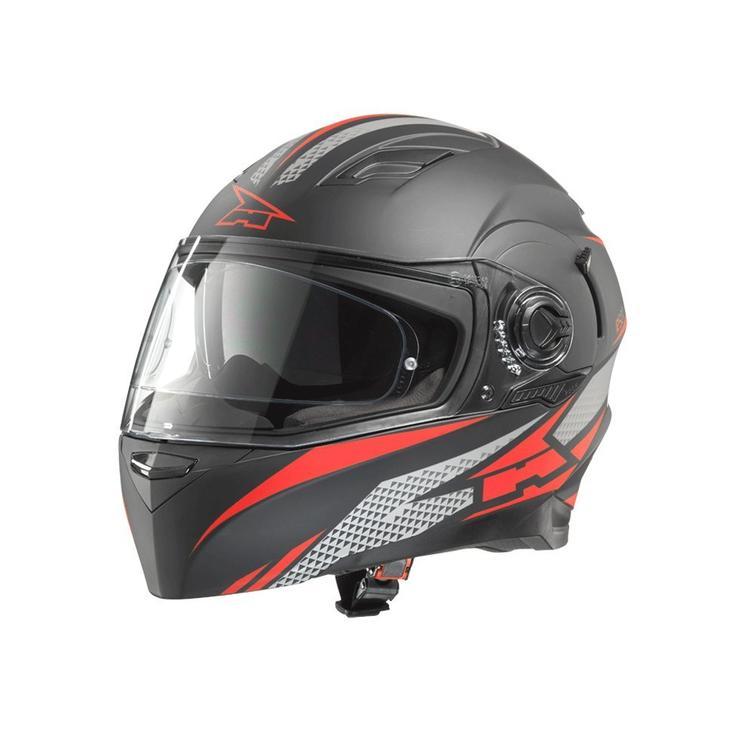 Axo RS01 Motorcycle Helmet XL Black Red