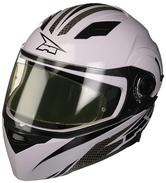 Axo RS01 Motorcycle Helmet M White Grey