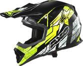 Axo Tribe Motocross Helmet XS Black Yellow