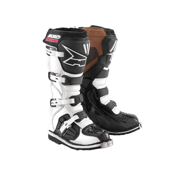 Axo Drone Motocross Boots 47 White (UK 12)
