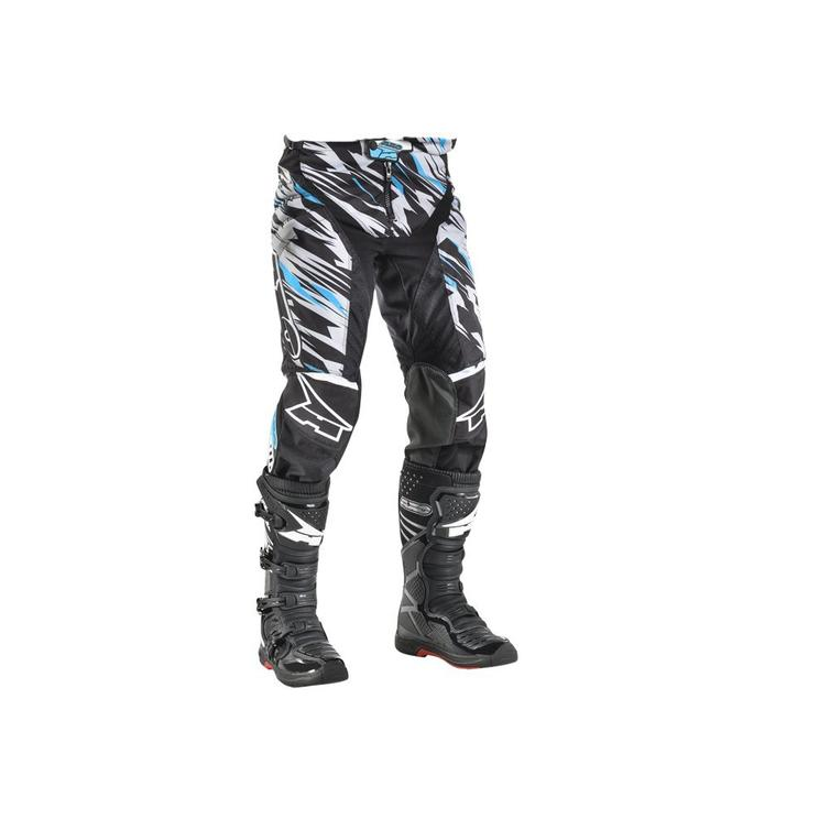 Axo Grunge Motocross Pants 50 Black Grey (UK 34)