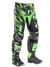 Axo Grunge Motocross Pants 50 Black Green (UK 34)