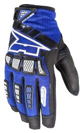 Axo Whip Youth Motocross Gloves M Blue