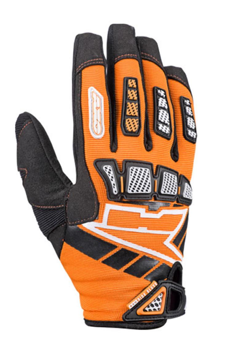 Axo Whip Youth Motocross Gloves XL Orange
